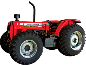 Massey Ferguson MF-460 4WD Tractor for Sale