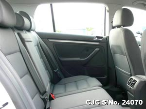 Interrior view of Volkswagen Golf