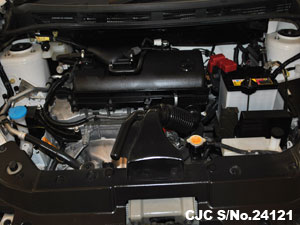 Engine view of Nissan AD Van