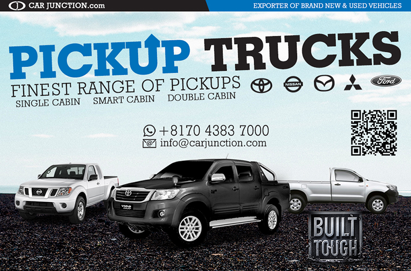 Pickup Trucks, Single, Smart and Double Cab for Botswana