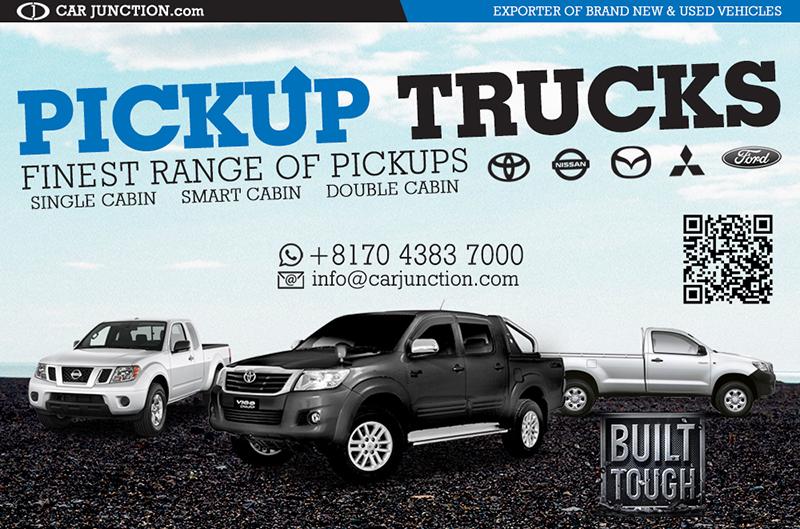 Pickup Trucks, Single, Smart and Double Cab for Botswana